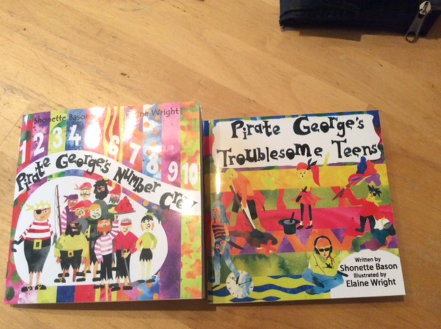 Pirate George Book Covers