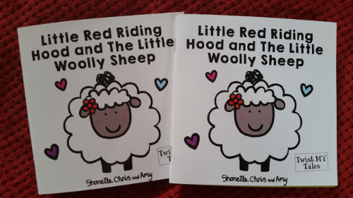 Red riding hood sheep