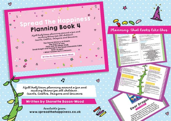 Spread the Happiness Planning Book 4