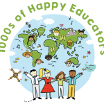 1000s of Happy Educators Logo