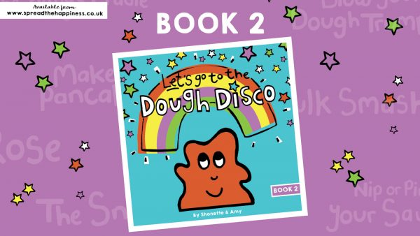Dough Disco Book 2 advert