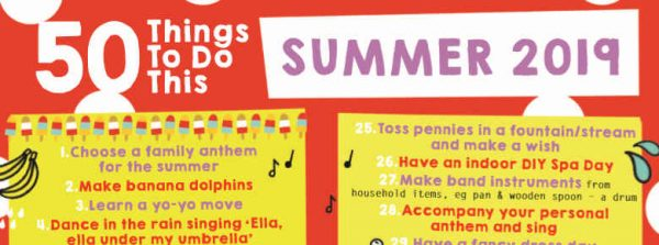 50 things to do for summer 2019