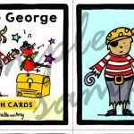 Pirate George Flashcard example