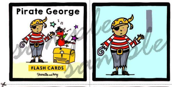 Pirate George Flashcard example