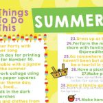 50 things to do for summer 2021 example
